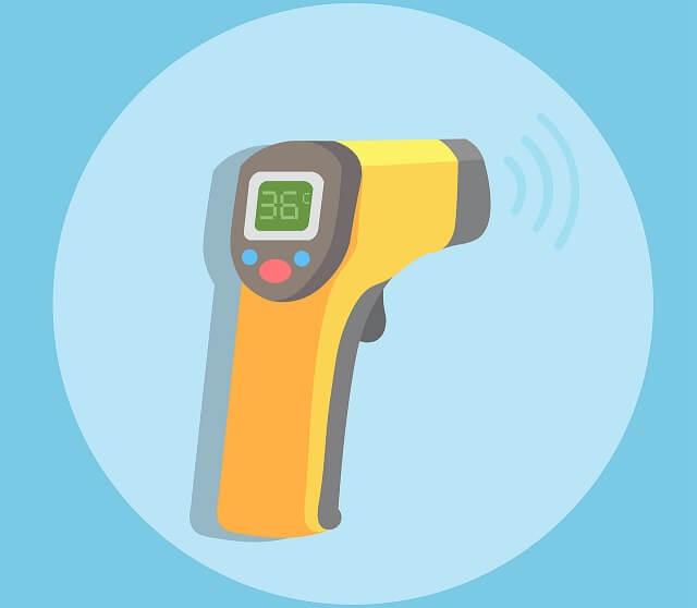 Intézményi eljárásrend a testhőmérséklet méréshez